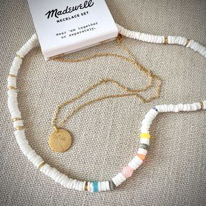 NWT Madewell Beachfind Necklace Set